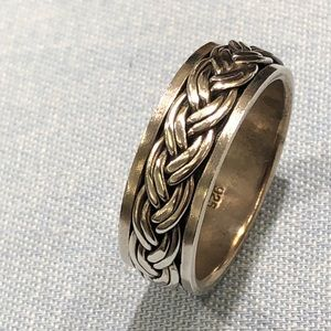 Other - Sterling silver rope band ring